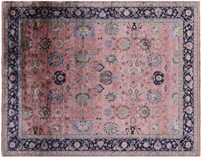 Handmade Persian Silk Area Rug