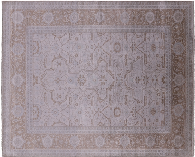 Persian Silk Hand-Knotted Area Rug