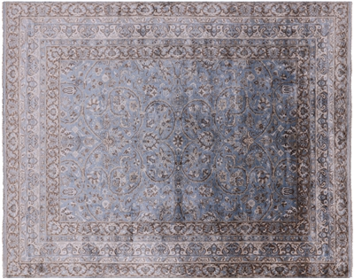 Persian Hand-Knotted Silk Area Rug