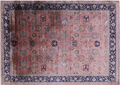 Handmade Silk Persian Area Rug