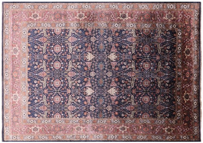 Silk Persian Hand-Knotted Area Rug