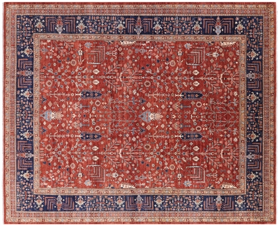 Hand Knotted Persian Ziegler Rug