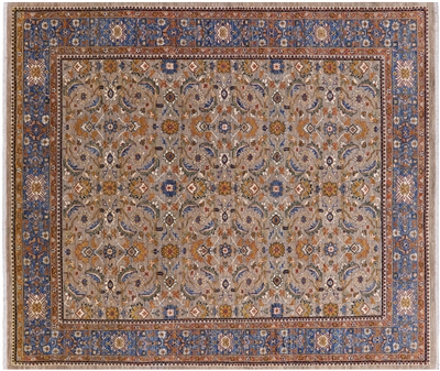 Fine Serapi Hand Knotted Wool Rug