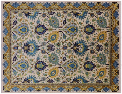 Persian Tabriz Vegetable Dye Rug