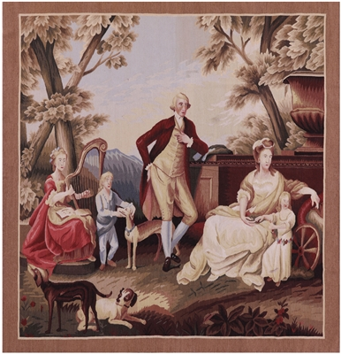 George Washington Tapestry Handmade Rug