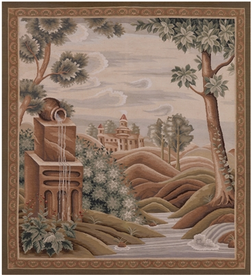 Pictorial Tapestry Handmade Rug