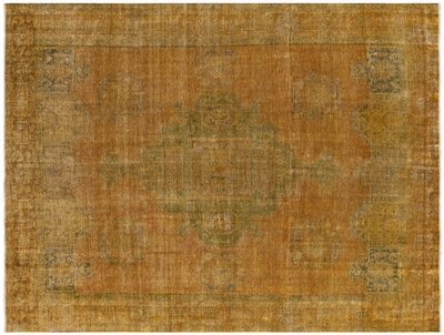 Persian Overdyed Hand Knotted Rug