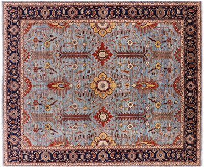 Persian Fine Serapi Hand Knotted Area Rug