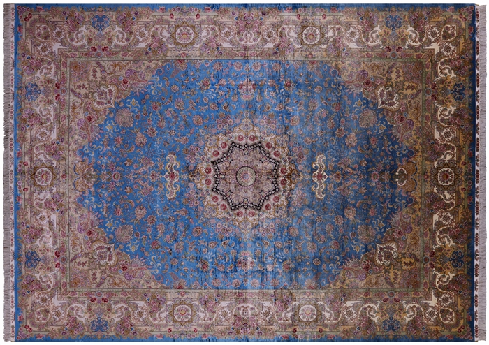 Silk High End Persian Hand Knotted Rug