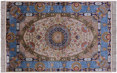 Persian Silk High End Rug