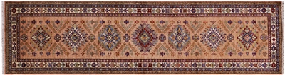 Runner Super Kazak Hand Knotted Rug