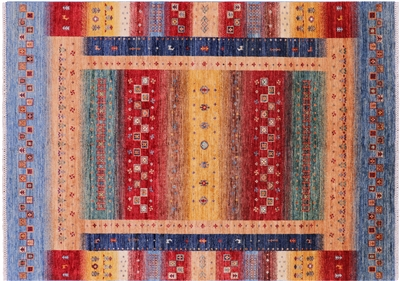 Hand Knotted Tribal Persian Gabbeh Rug