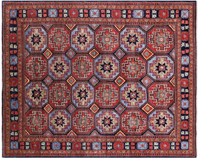 Gabbeh Shall Hand-Knotted Rug