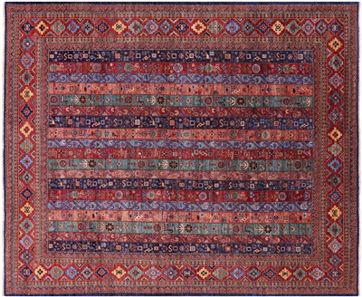 Persian Gabbeh Shall Hand Knotted Wool Rug