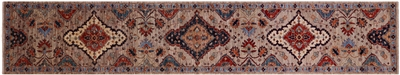 Runner Persian Fine Serapi Hand Knotted Rug