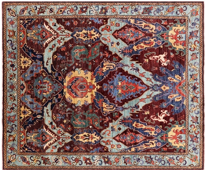 Fine Serapi Persian Hand-Knotted Rug