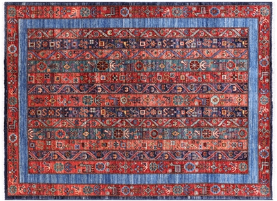 Persian Shall Gabbeh Hand Knotted Wool Rug