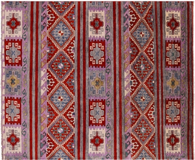 Gabbeh Navajo Hand Knotted Wool Rug