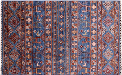 Persian Gabbeh Tribal Hand Knotted Wool Rug
