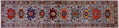 Runner Persian Fine Serapi Hand-Knotted Rug