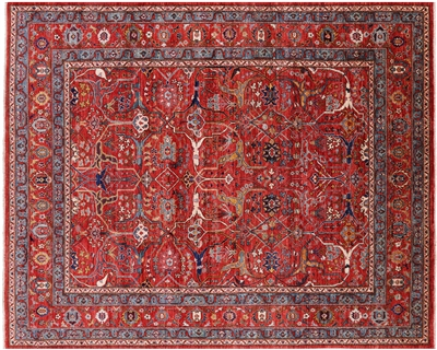 Fine Serapi Persian Hand-Knotted Wool Rug
