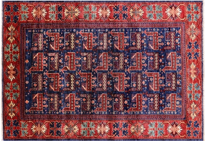 Hand-Knotted Persian Fine Serapi Rug