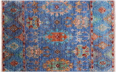 Persian Tabriz Hand-Knotted Rug