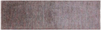 Runner Overdyed Full Pile Hand Knotted Wool Rug