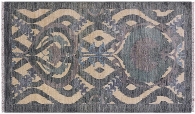 Hand-Knotted William Morris Rug