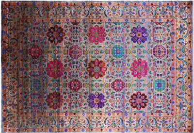 Persian Silk Hand Knotted Rug