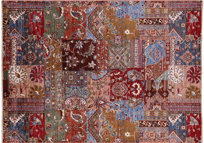 Super Kazak Hand Knotted Wool Rug