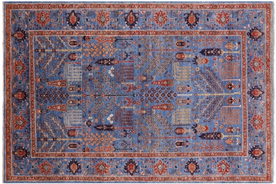 Hand Knotted Persian Ziegler Wool Rug