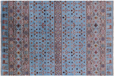 Handmade Tribal Persian Gabbeh Wool Rug