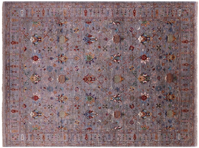 Persian Tabriz Hand Knotted Wool Rug