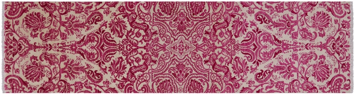 William Morris Handmade Runner Rug