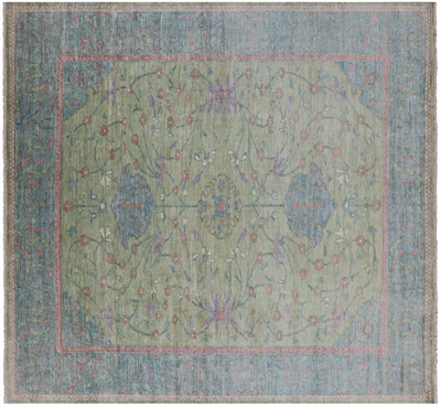 William Morris Hand-Knotted Rug