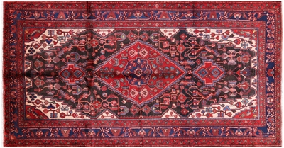Hand Knotted New Persian Hamadan Area Rug