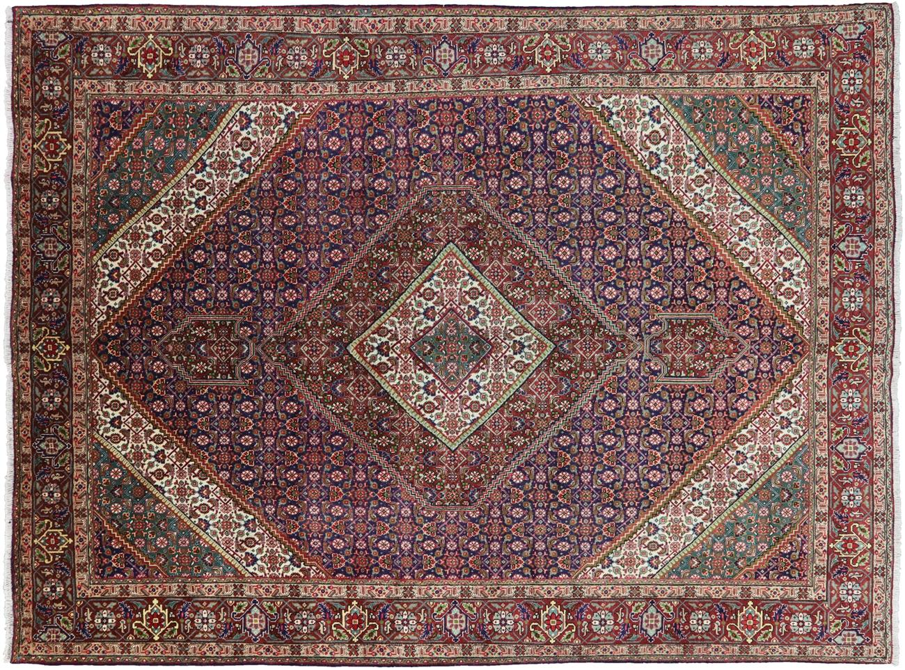 New Oriental Authentic Persian Tabriz Fish Design Handmade Area Rug