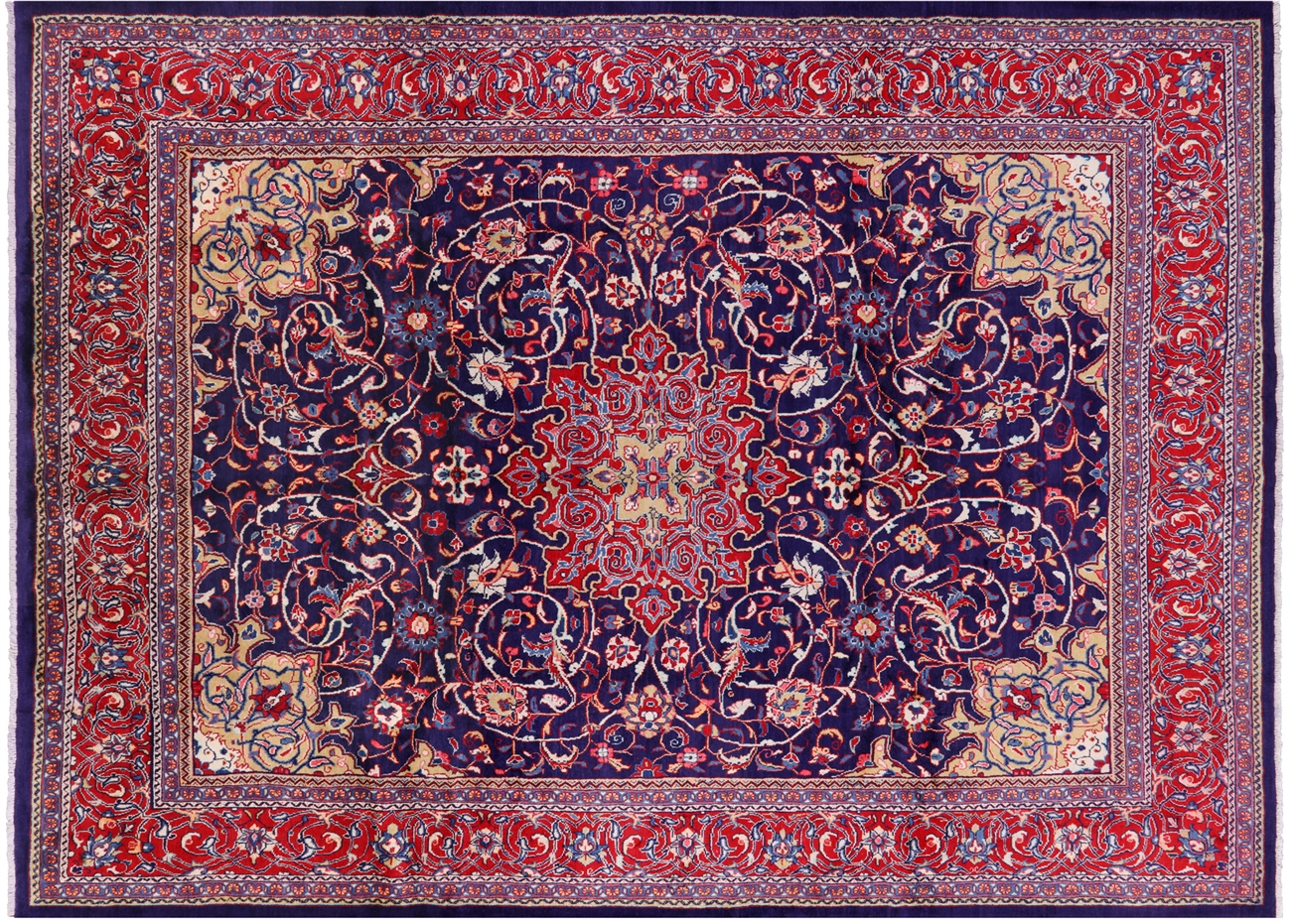 Hand Knotted New Persian Mahal Oriental 10 X 14 Area Rug