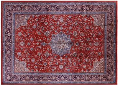 New Handmade Persian Sarouk Wool Area Rug