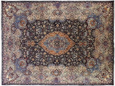 New Hand Knotted Oriental Persian Kashmar Area Rug
