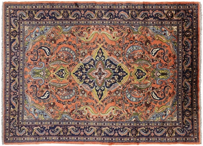 New Authentic Oriental Persian Lillian Handmade Area Rug