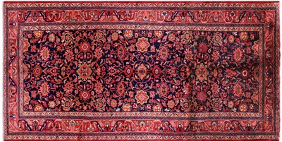 Hand Knotted New Authentic Persian Mahal Oriental Area Rug