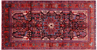 New Hand Knotted Persian Nahavand Area Rug