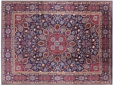 New Persian Tabriz Handmade Area Rug