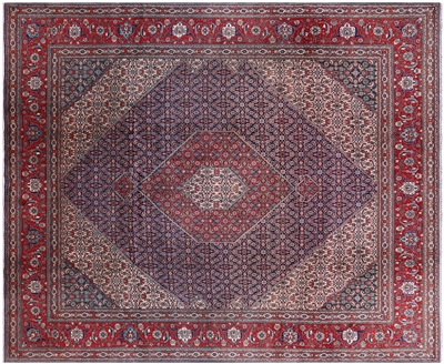 New Persian Super Fine Tabriz Handmade Fish Design Area Rug