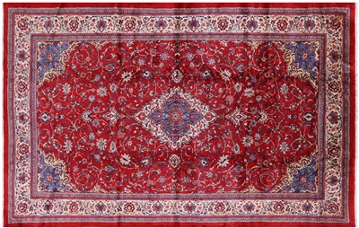 New Persian Sarouk Wool Handmade Area Rug