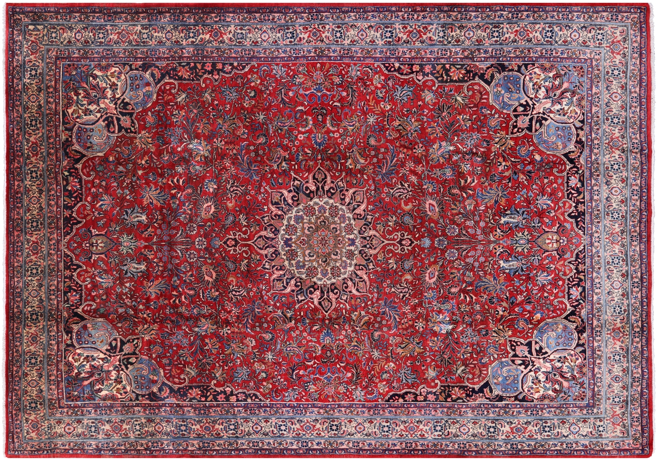 Antique Excellent Condition 8 X 11 Persian Bijar Iron Rug