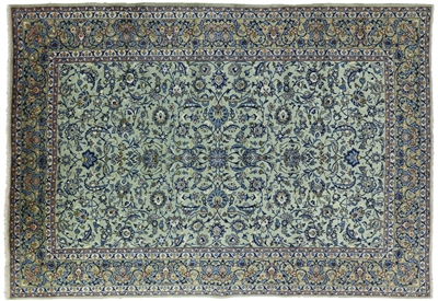 New Persian Kashan Area Rug