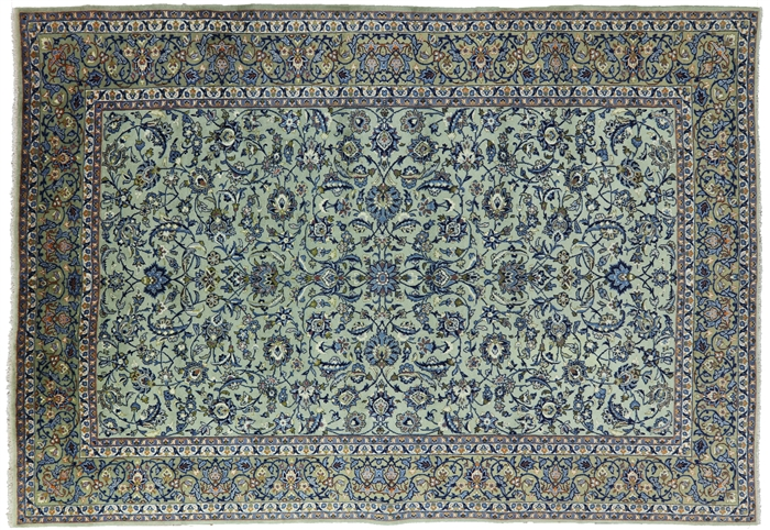 New Persian Kashan Oriental Area Rug